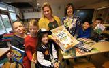 Indra Terpstra (8) kiest namens Friesland het beste boek in de Nederlandse Kinderjury