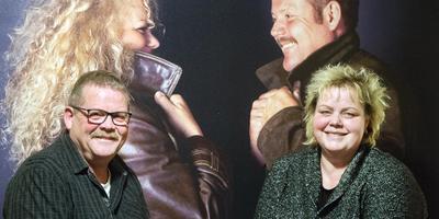 Zangduo Auke & Ellen: ,,Wy fiere it libben. It is goed.'' FOTO MARCEL VAN KAMMEN