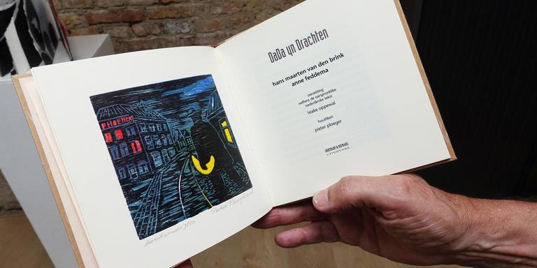 Het binnenwerk van Dada yn Drachten van Hans Maarten van den brink en Anne Feddema. FOTO ALEX DE HAAN