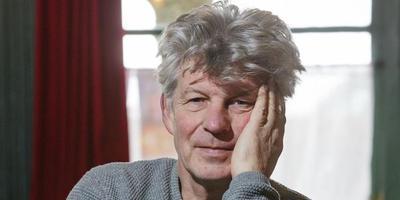 Bouke Oldenhof: ,,Ik ha sels noait fan dy útwrydske ideeën, dêr bin ik in fierste brave jonge foar.'' FOTO RENS HOOYENGA