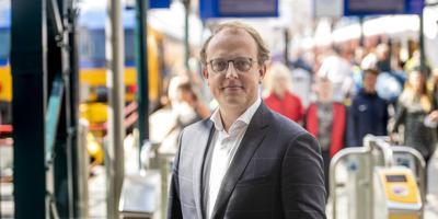 Wethouder Friso Douwstra: ,,We hadden niet iedereen in het vizier'.' FOTO HOGE NOORDEN/JACOB VAN ESSEN