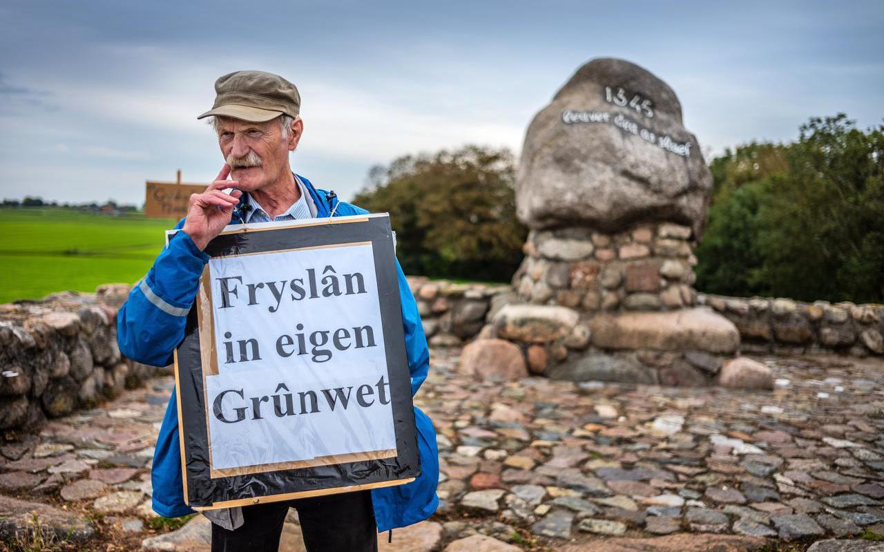 Kerst Huisman pleit voor een eigen Friese grondwet.
