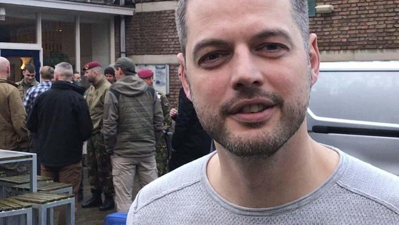 De missie naar Erbil wordt geleid door kapitein Jan uit Groningen. foto dvhn