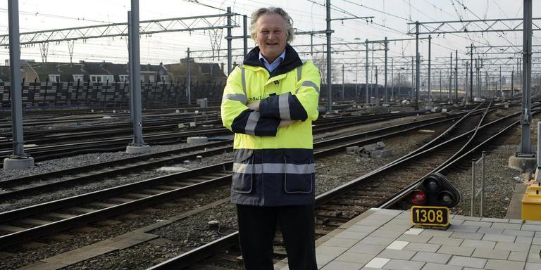 ProRail directeur Pier Eringa. Foto: Remko Kool