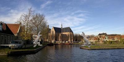 Het ontwerp van de fonteinen voor Workum.