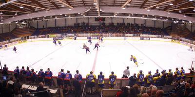 De ijshockeyhal in Heerenveen. FOTO HENK JAN DIJKS