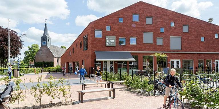 IKC It Werflân, Rottevalle. Onix NL, Groningen. Projectarchitecten: Wouter Stoer, Haiko Meijer. Opdrachtgever: Gemeente Smallingerland.