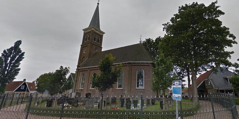 De kerk van Dedgum. FOTO GOOGLE STREETVIEW