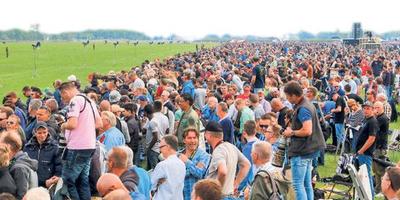 Zo'n 280.000 toeschouwers kwamen naar Leeuwarden voor de Luchtmachtdagen. FOTO LC/ARODI BUITENWERF