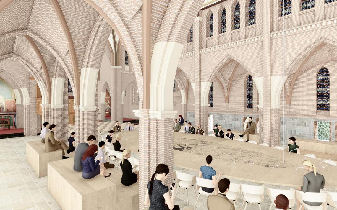 Stichting oppert kerk als alternatieve raadszaal Dokkum - Noardeast-Fryslân - Leeuwarder Courant