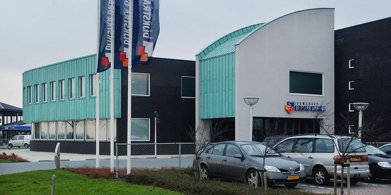Bedrijfsgebouw Draisma Dijkstra. FOTO LC