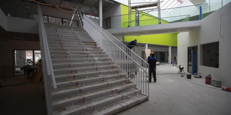 De Campus van binnen in Kollum. Foto Hoge Noorden/Jaap Schaaf