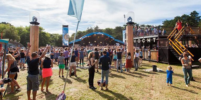 Festival Into the Great Wide Open op Vlieland.