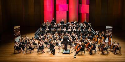Het Frysk Jeugd Orkest in actie. FOTO ARCHIEF