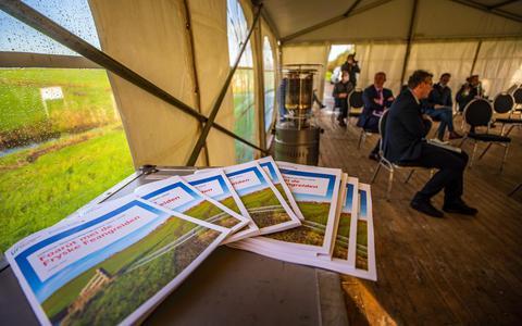 Het Veenweideprogramma 2021-2030 werd in november gepresenteerd bij Proeftuin De Welle in Koufurderrige.