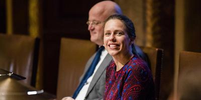 Carola Schouten, minister van Landbouw, Natuur en Voedselkwaliteit. FOTO ANP
