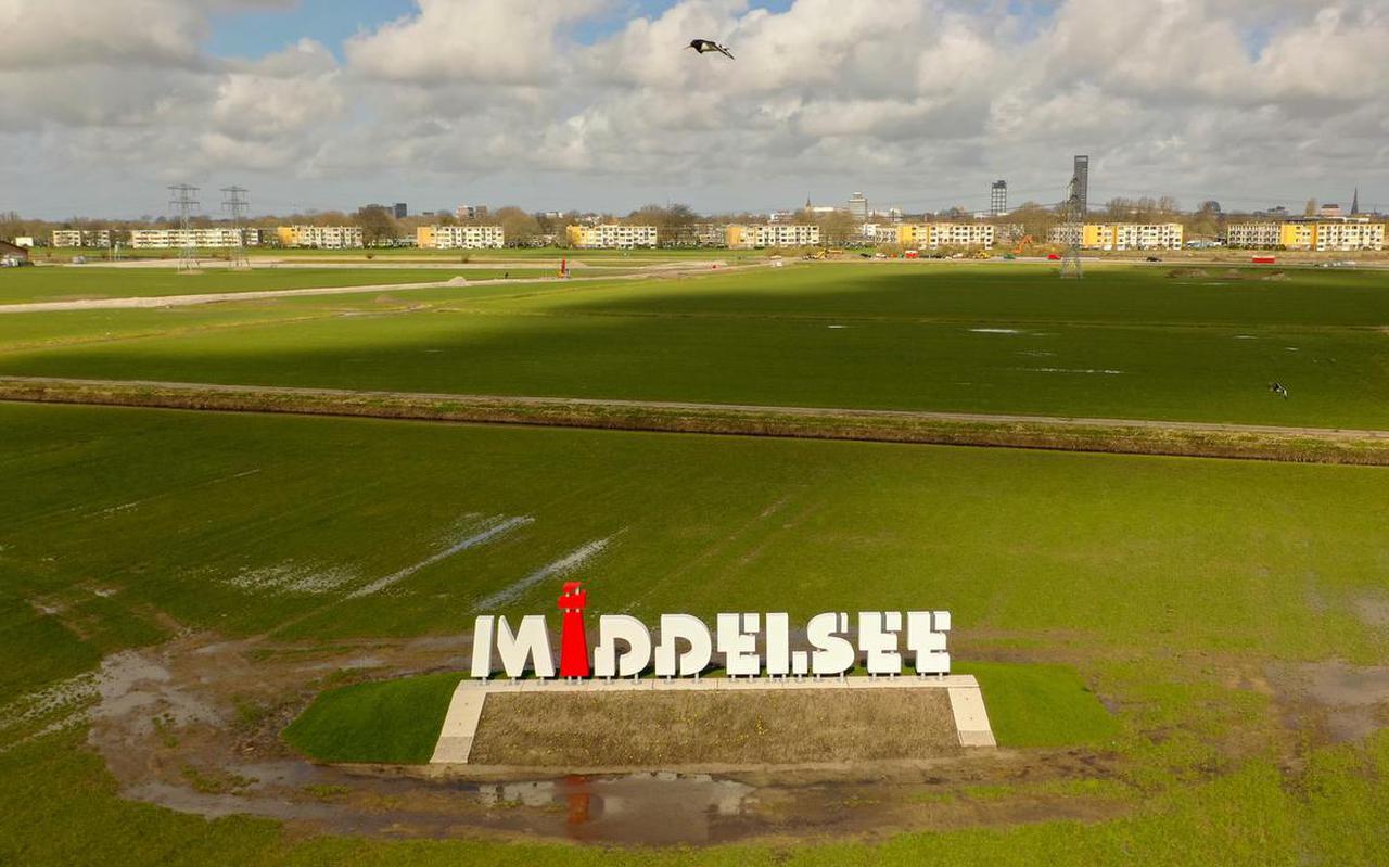 De wijk Middelsee in Leeuwarden.