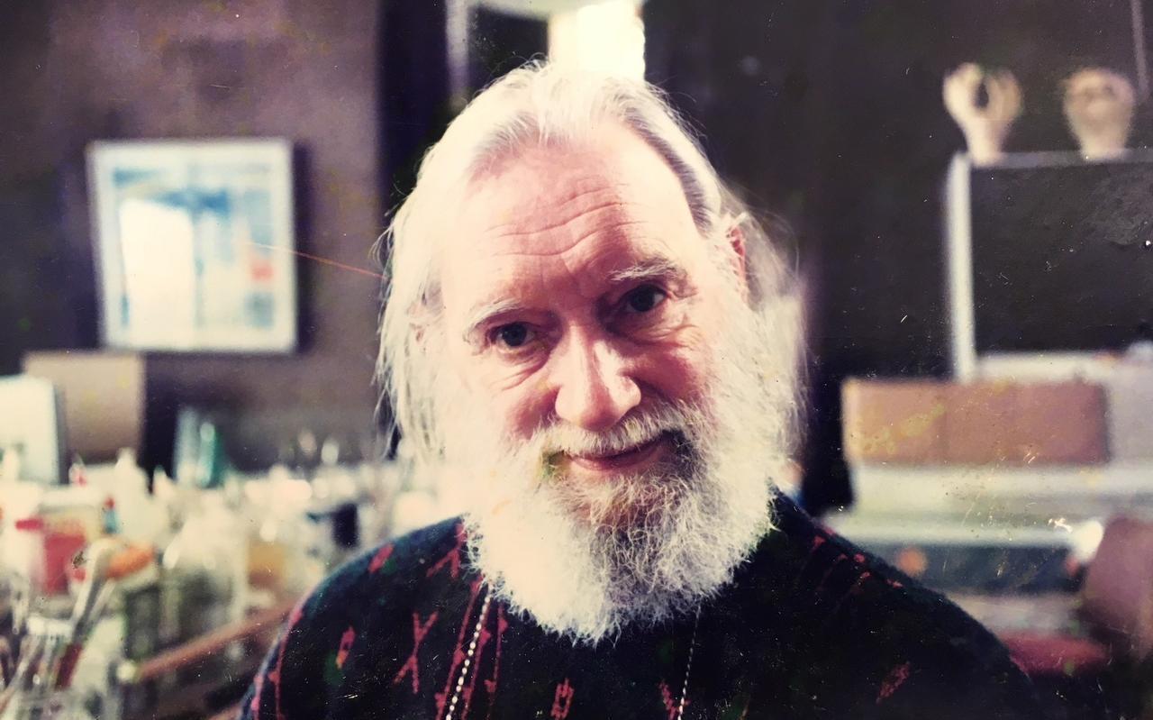 De in Leeuwarden geboren kunstenaar Pieter Kooistra.