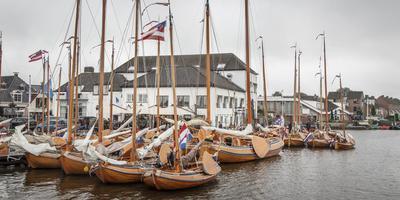Traditionele scheepjes te over bij Hotel Oostergo in Grou. FOTO TOM COEHOORN