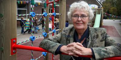 Na zeventien jaar komt het einde in zicht van het burgemeesterschap van Johanneke Liemburg in Littenseradiel, dat verdeeld wordt over Súdwest-Fryslân, Leeuwarden en Waadhoeke. FOTO CATRINUS VAN DER VEEN