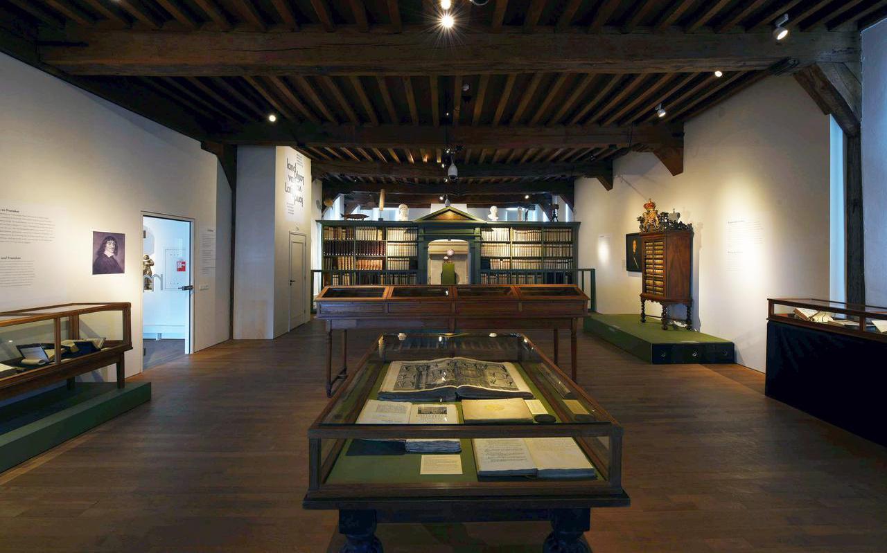 Overzicht van de eerste zaal van het Land van Latijn in Museum Martena. FOTO HAYE BIJLSTRA