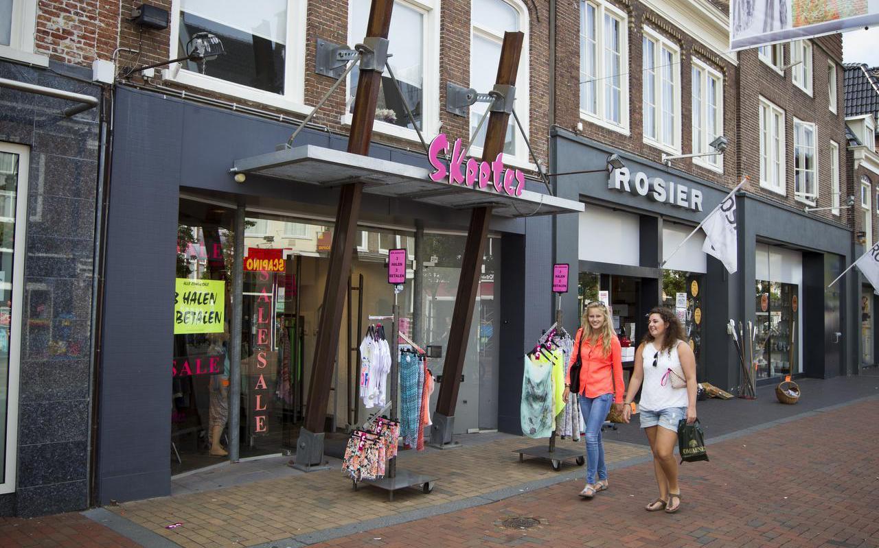 De Skooter in Dokkum is al lang uit het straatbeeld verdwenen.