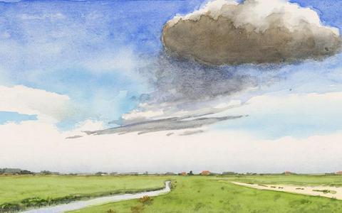Wind, riet, wolken en nog zoveel meer: hét Friese landschap bestaat vooral in ons eigen hoofd
