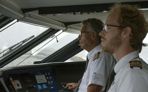 Minder jeugd op snelboot naar Terschelling