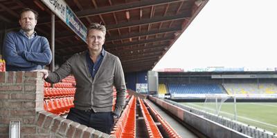 Financieel directeur Gerald van den Belt en algemeen directeur Ard de Graaf. FOTO HENK JAN DIJKS