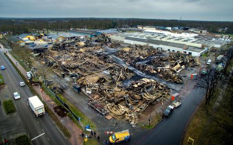 Spullen Herman Renz verbrand bij brand in Oosterwolde