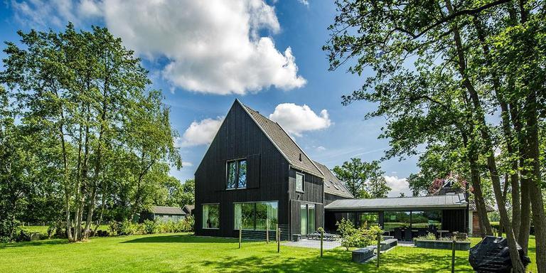 Verbouw woning, Mûnein. Dorenbosch Architekten, Gytsjerk. Projectarchitect: Anne Dorenbosch. Opdrachtgever: Familie Stienstra. FOTO DANIEL HARTOG