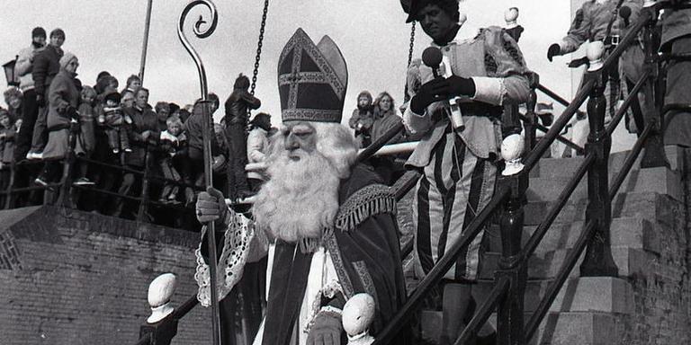 Sinterklaas in Hindeloopen, 1981