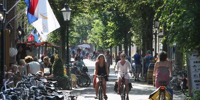 De Dorpsstraat op Vlieland.