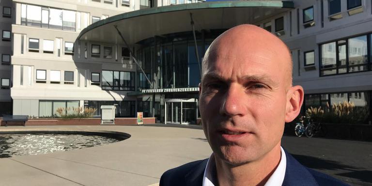 Steven Hofenk, de nieuwe directeur van De Friesland Zorgverzekeraar.