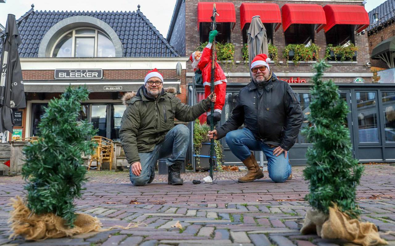 Menno Bleeker (Cafe Bleeker) en Tom Mulder (It Houtsje) in Heerenveen.