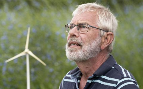 Geen nieuwe dorpsmolen Reduzum: voorzitter Henk Vellinga stopt