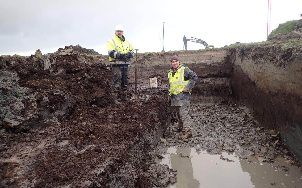 Archeologen doen onderzoek op de plek waar straks de Hemmen III moet verrijzen.