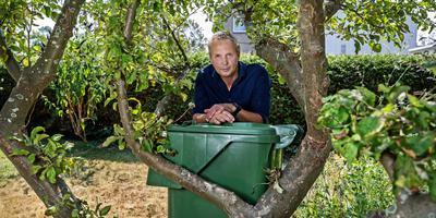 """Hans Gillissen van Afvaloven Nee: ,,De grote verharding in Harlingen gaat mij ook aan het hart."""" FOTO NIELS DE VRIES"""