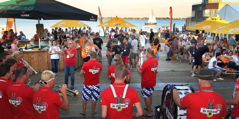 De European Sport for All Games werden vorige week donderdagavond geopend op het Starteiland.