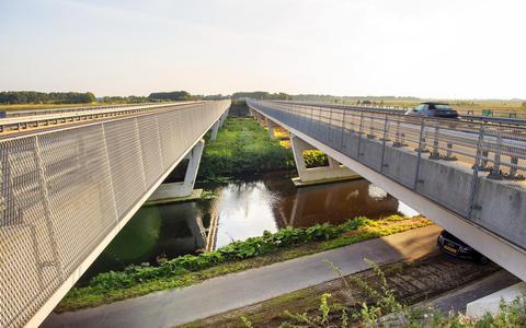 Centrale As tussen Dokkum en De Westereen. FOTO MARCEL VAN KAMMEN