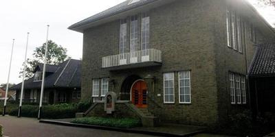 Het gemeentehuis van Tytsjerksteradiel in Burgum. FOTO LC
