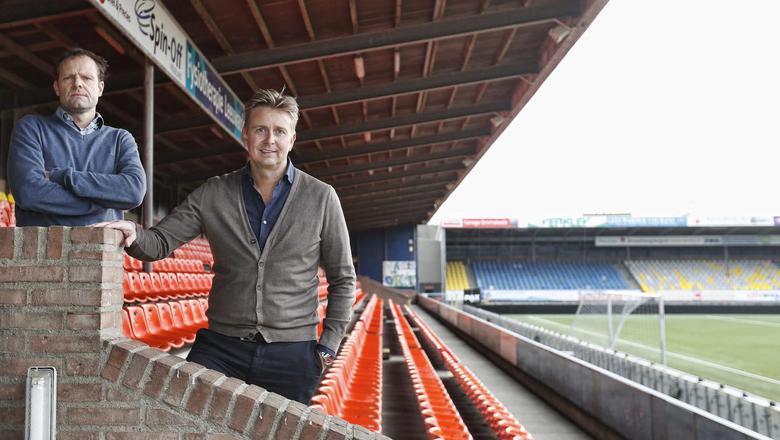 Financieel directeur Gerald van den Belt en algemeen directeur Ard de Graaf.