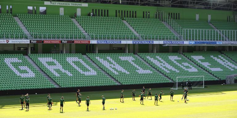 Het stadion van FC Groningen. FOTO ARCHIEF