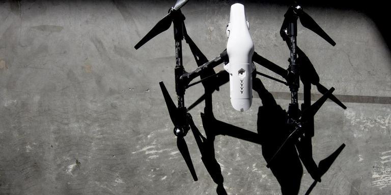 Voorbeeld van een drone. FOTO ARCHIEF LC