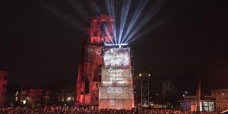De opening van de Culturele Hoofdstad in Leeuwarden.