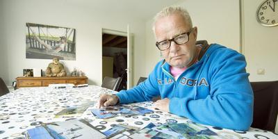Weduwnaar Pieter Postma uit Burgum heeft een onderbuikgevoel over het aantal ALS-patiënten in Tytsjerksteradiel. FOTO MARCEL VAN KAMMEN