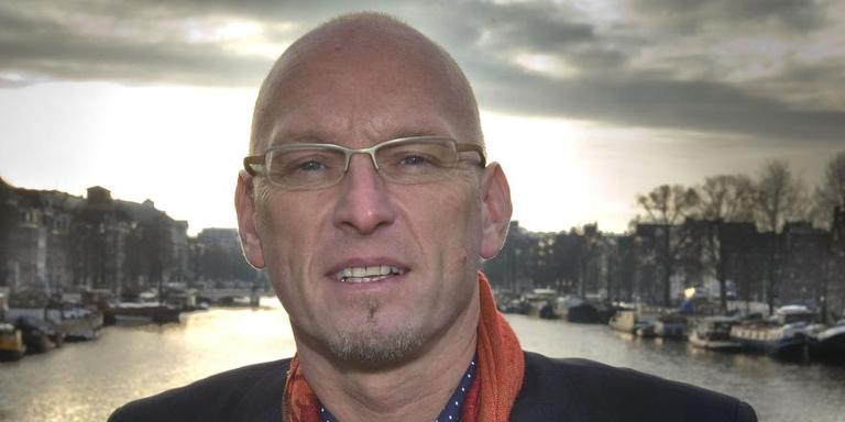 Tjeerd Herrema in Amsterdam, waar hij van 2006 tot 2009 wethouder was. Donderdag trad hij af als wethouder in Almere. FOTO ARCHIEF LC