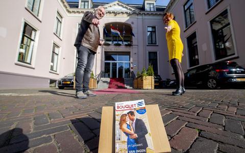 Losse flodder leidt tot unieke, Friese Bouquetroman