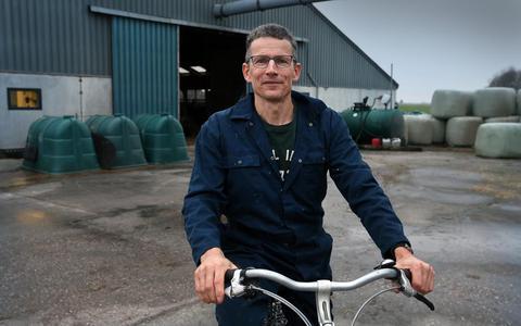 'De aksjes kinne noch wolris in stik hurder wurde', stelt melkveehouder Gerrit de Boer uit Britsum