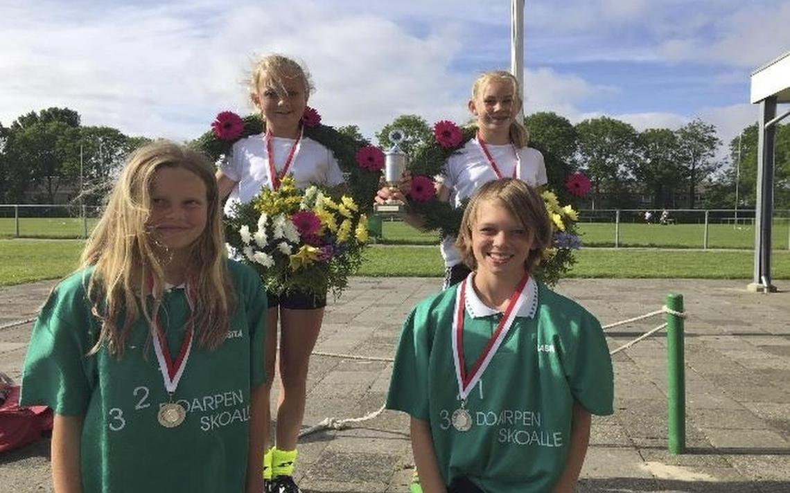 Jirnsum en Raerd winnen Leeuwarder schoolkaatsen - Friesland ... - Leeuwarder Courant